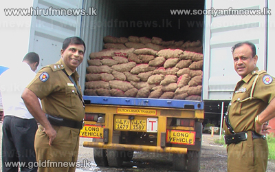 Container+transporting+potatoes+not+suitable+for+consumption+seized+in+Dambulla