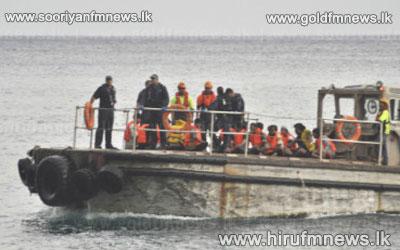 46+Sri+Lankan+migrants+stranded+at+sea+rescued