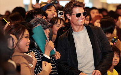 Tom Cruise to become honorary citizen of Busan,South Korea