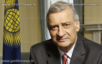 Commonwealth+Secretary+General+arrives+in+Sri+Lanka+in+February