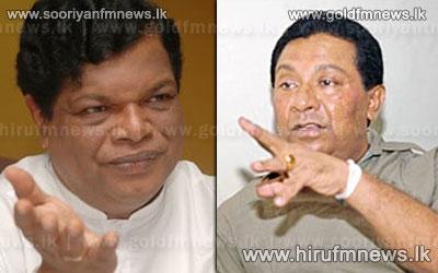 Minister+S.+B.+Dissanayaka+sets+and+example+to+Minister+Bandula+Gunawardena