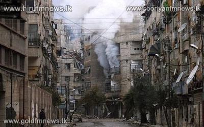 Syria capital Damascus sees heavy Jobar fighting
