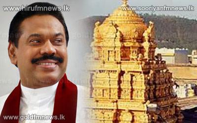 President+pays+homage+to+Tirupathi