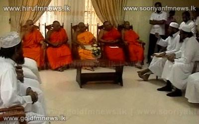 All+Ceylon+Jamiyyathul+Ulama+Association+meets+with+Chief+Prelates