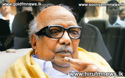 Karunanidhi+on+the+alert+on+how+India+would+be+against+Sri+Lanka.