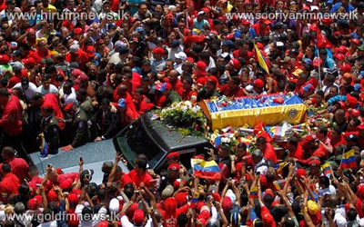 Leaders+gather+for+state+funeral+of+Hugo+Chavez