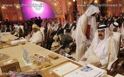 Doha+summit+gives+Arab+states+%27right%27+to+arm+Syria+rebels