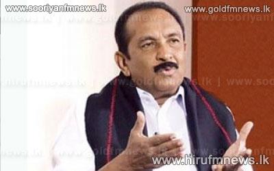 MDMK+Leader+Vaiko+appeals+to+Indian+Premier+on+Eelam+Tamils