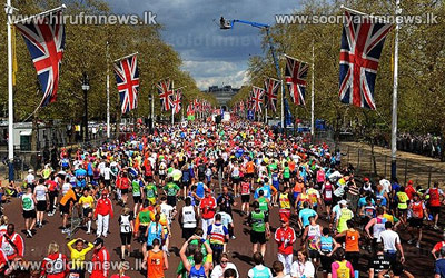 Anuradha+Cooray+placed+14th+in+the+London+Marathon.