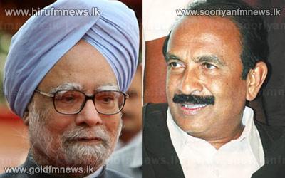 Indian Premier Manmohan Singh writes to Vaiko on Sri Lanka
