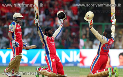 Gayle+dominates+as+RCB+amass+262+for+3