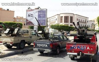 Libya+gunmen+surround+Tripoli+foreign+ministry