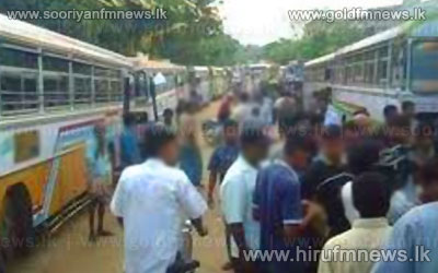 Chilaw+Private+Bus+strike+continues+-++Police+protection+to+distance+services+passing+the+city
