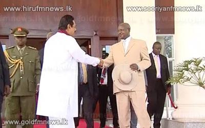 Presidents+of+Sri+Lanka+%26+Uganda+meet