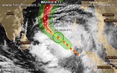 Cyclone+moves+away+from+island%3B+Kalu+Ganga+reaches+spill+level