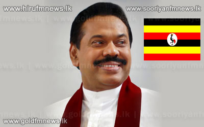 President+Rajapakse+arrives+in+the+island.+++