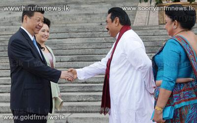 Sri+Lankan+President+meets+Chinese+President