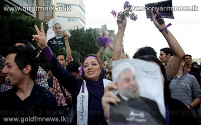 Iranians+celebrate+Hassan+Rouhani%27s+election+as+president+++