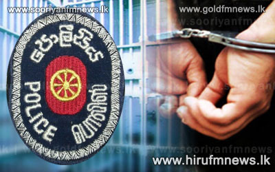 A+person+arrested+with+a+live+hand+grenade+in+Bandaragama.