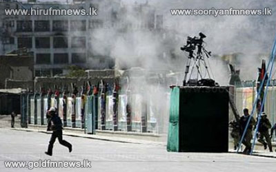 Afghanistan+presidential+palace+attacked+in+Kabul