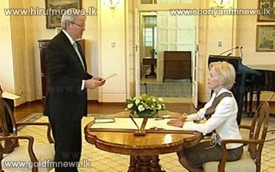 Kevin+Rudd+sworn+in+as+new+Australian+prime+minister+++