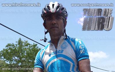 Sudeera+Nilanga+of+SL+Police+wins+the+first+stage+of+Sri+Lanka%27s+biggest+cycle+race+Tour+De+Hiru