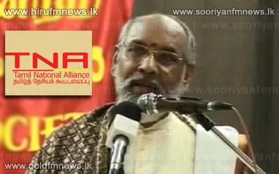 TNA+Chief+Ministerial+candidate+blames+Tamilnadu
