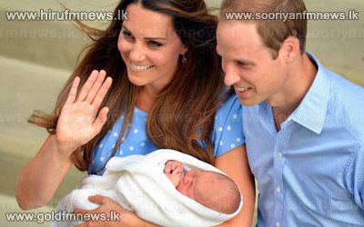 William+and+Kate+present+baby+prince