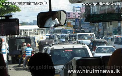 Heavy+traffic+on+Galle+Road+due+to+protest+++