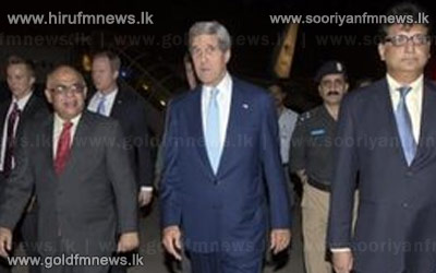 The+US+Secretary+of+State%2C+John+Kerry+arrives+in+Pakistan
