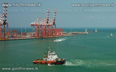 New+international+terminal+of+Colombo+harbour+inaugurated+today.+