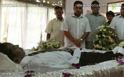 The+funeral+of+student+Ravishan+Perera+held