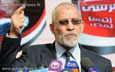 Egypt+Muslim+Brotherhood+leader+Mohammed+Badie+held