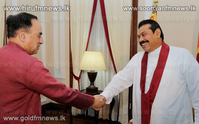 Dr+Swamy+meets+President+Rajapaksa++++++
