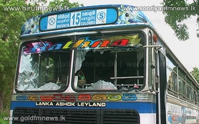 A+private+bus+was+attacked+at+Maradankadawala+-+The+driver+and+the+conductor+hospitalized++++++