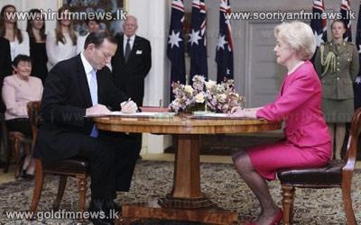 Tony+Abbott+sworn+in+as+Australia+prime+minister