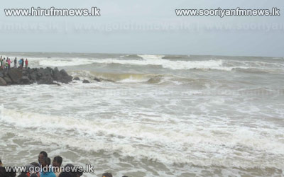 Showery+and+Windy+weather+o+be+gradually+decreased+-+The+sea+rough+today+as+well.