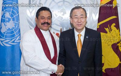 UN+secretary+General+meets+the+President.