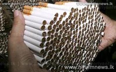Illegal+stock+of+cigarettes+seized+in+Chilaw