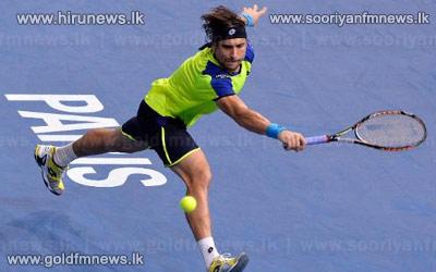 Ferrer+stuns+Nadal%2C+faces+Djokovic+in+Paris+final