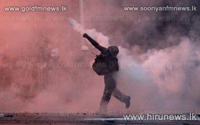 New+protest+clashes+shake+Thai+capital