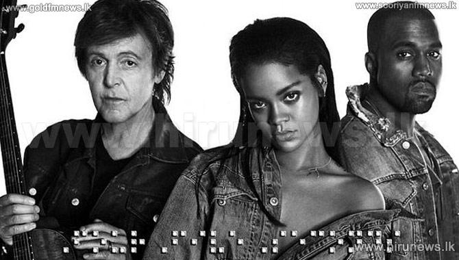 Paul+McCartney%2C+Kanye+West%2C+Rihanna+Team+Up+for+%27FourFiveSeconds%27