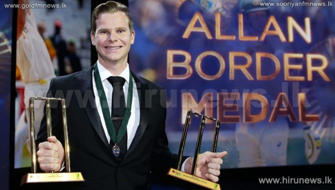 Steve+Smith+Wins+Allan+Border+Medal