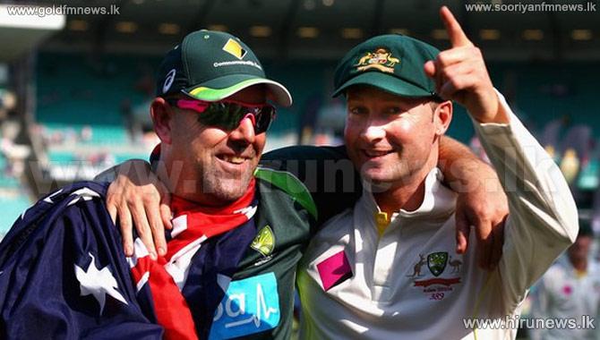 Darren+Lehmann+backs+Michael+Clarke+as+Australia+captain