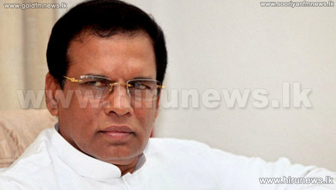 Lost+privileges+to+be+given+-+President+Maithripala