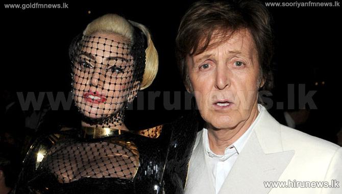 Paul+McCartney+to+work+with+Lady+GaGa