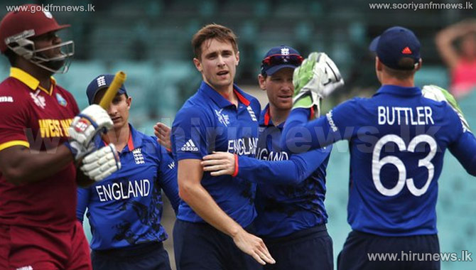 England+beat+a+lacklustre+West+Indies+side+by+nine+wickets+in+their+first+World+Cup+warm-up+match+at+Sydney.