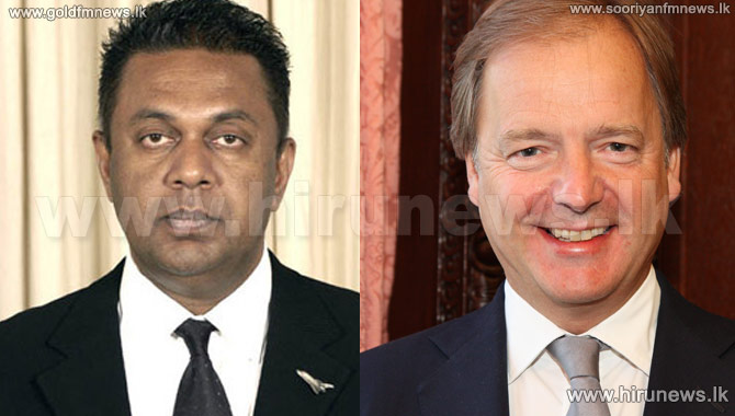 Mangala+meets+British+Foreign+Minister+