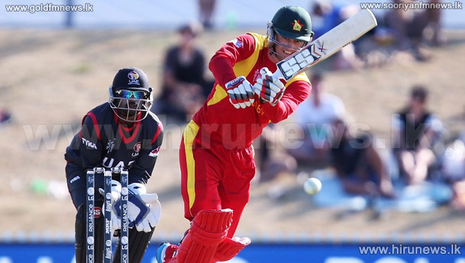 Zimbabwe+beats+UAE+by+4+wickets+at+Cricket+World+Cup