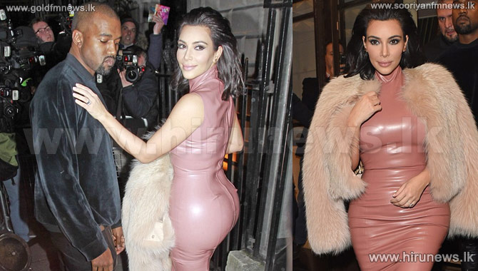 Kanye+West+can%27t+resist+giving+wife+Kim+Kardashian+a+cheeky+feel+of+the+bottom